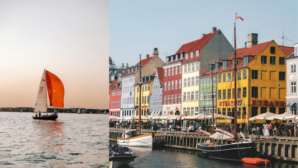 Copenhagen waterfront and sailing