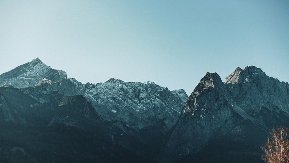 Mountains near Munich