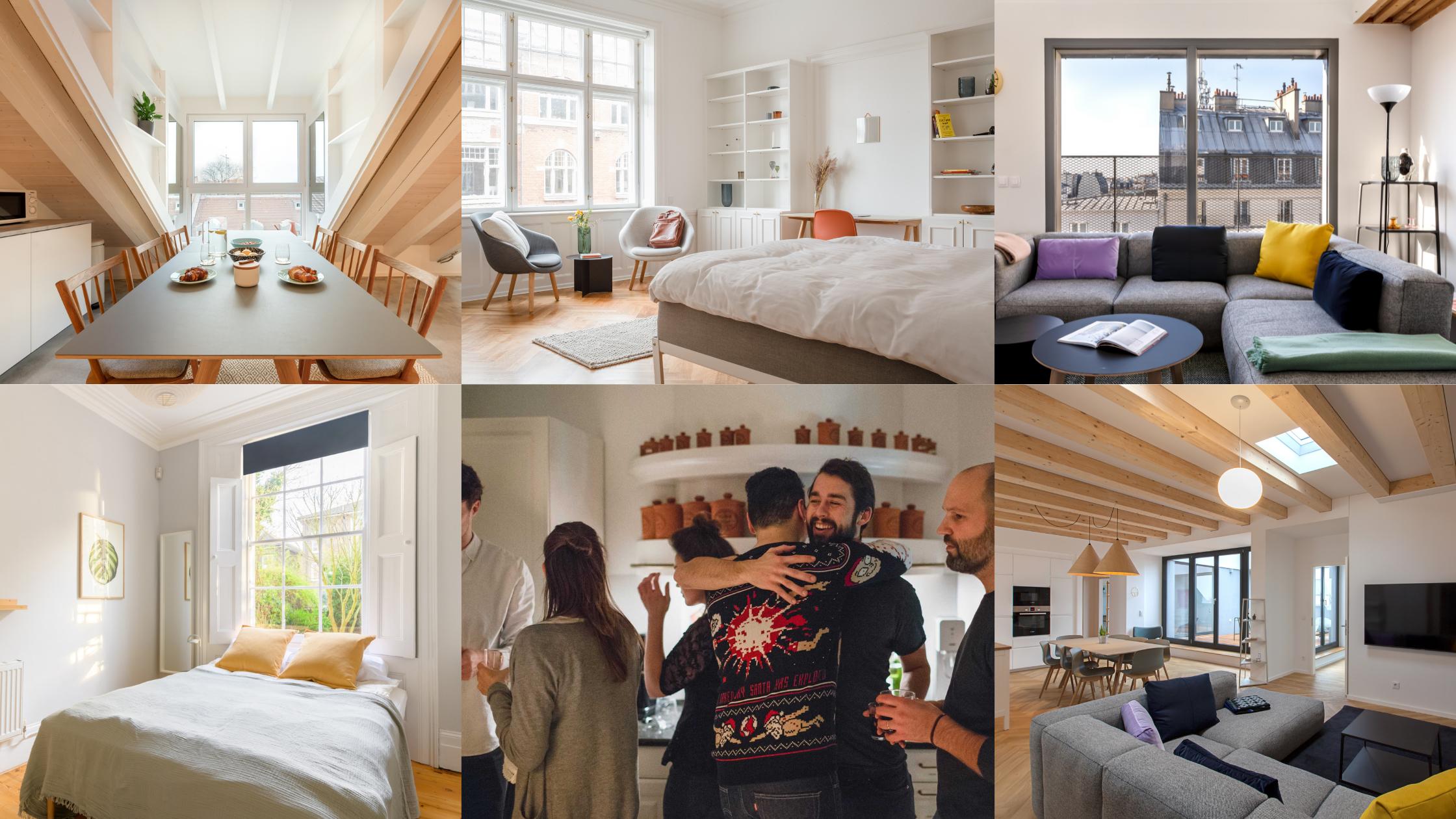 LifeX Homes in Copenhagen, Berlin, Munich, Paris, and London