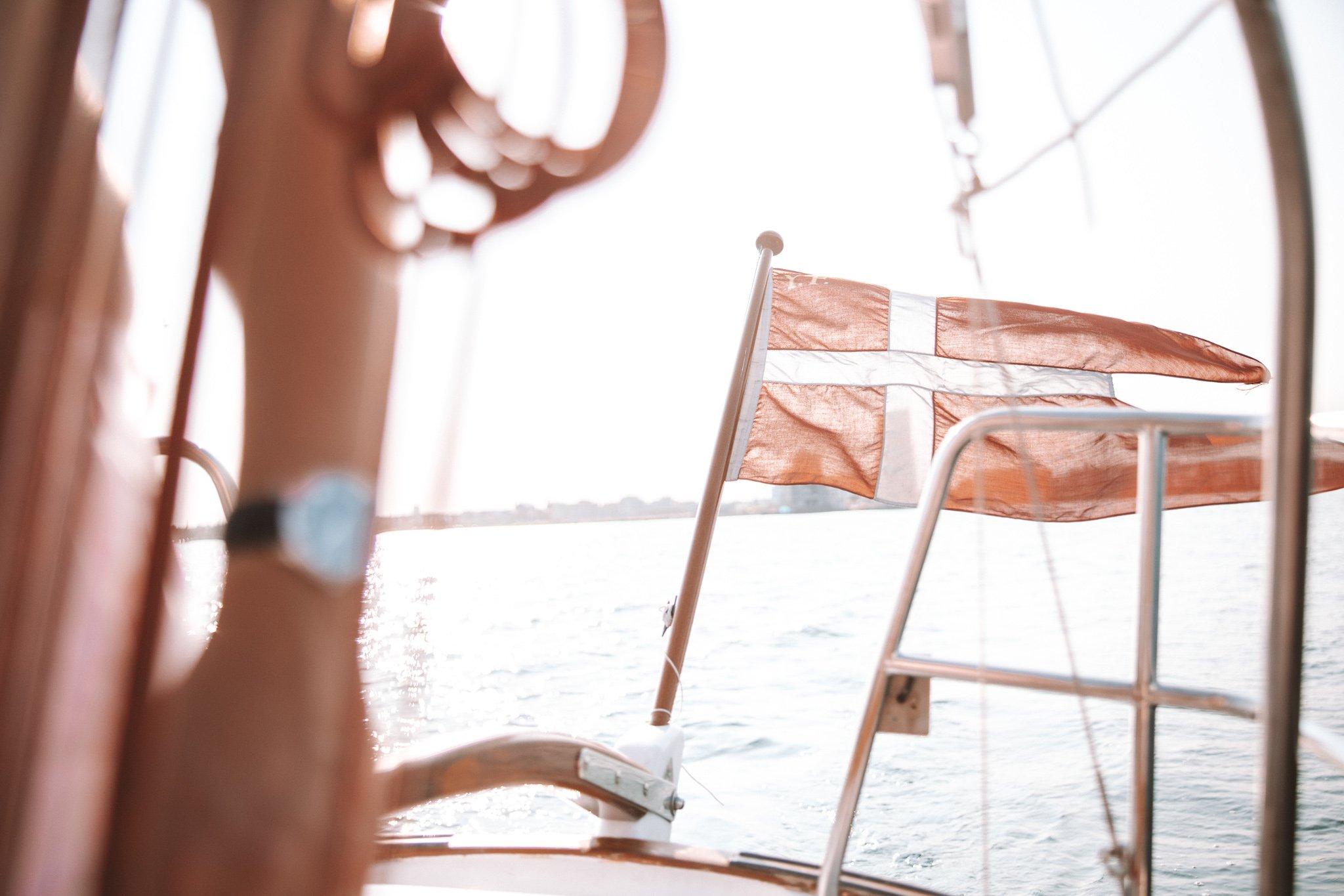 Sailing, a popular activity in Copenhagen