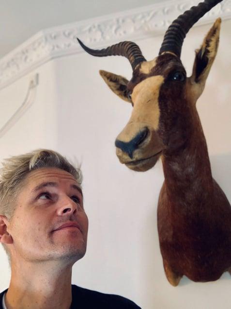 Mikkel at Home