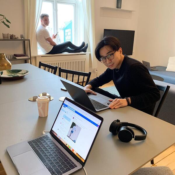 Working from Home in a LifeX Apartment